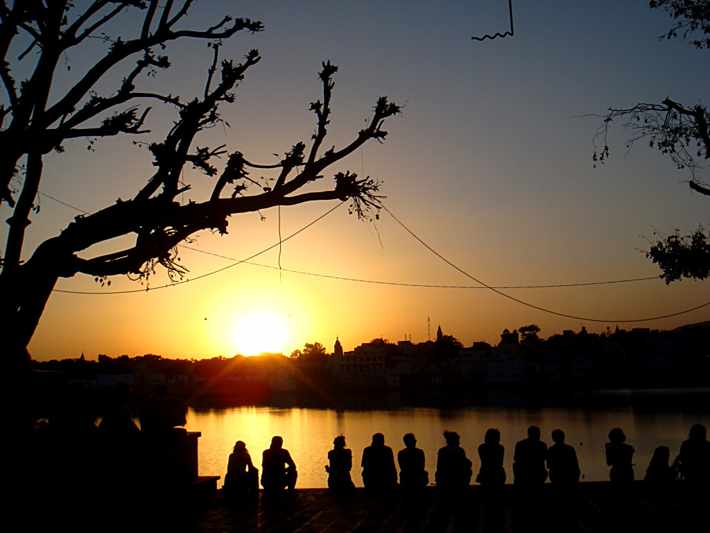 Sunset - Pushkar