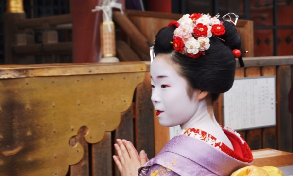 Young maiko